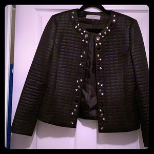 Gem detail blazer